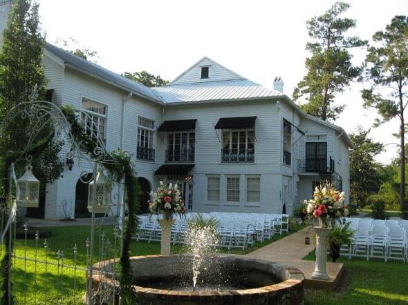 Annadele's hosts many weddings.