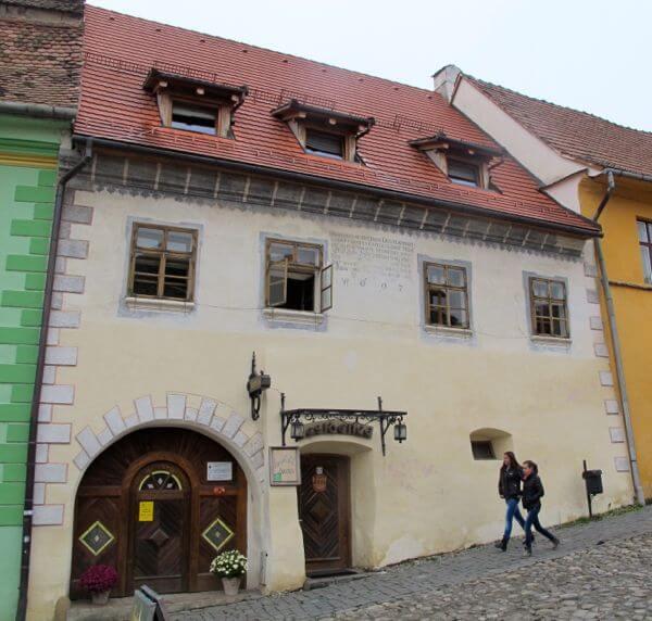 Fronius Residence in Sighisoara in Transylvania