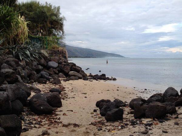 Punaauia Beach, Tahiti, French Polynesia