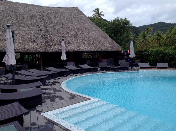 Pool, Maitai Lapita Village, Huahine, French Polynesia