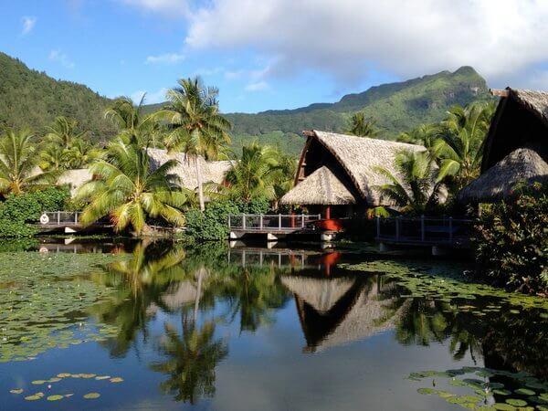 Bungalows, Maitai Lapita Village, Huahine, French Polynesia