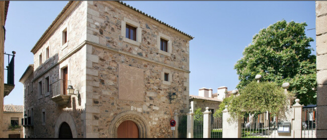 Parador de Cáceres, a 15th century palace