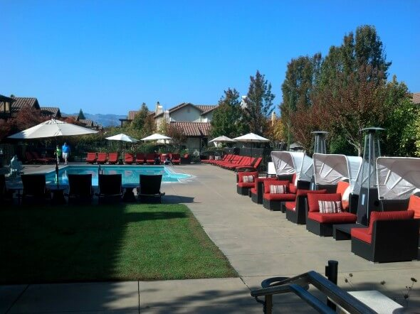 The pool at the Lodge at Sonoma