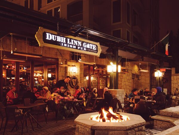 Dubh Linn Gate Irish Pub, Pan Pacific Whistler Mountainside Hotel, Whistler, British Columbia Canada
