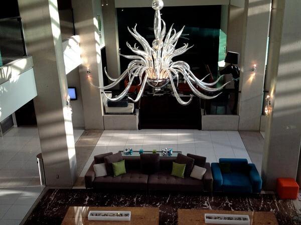 Lobby, Hotel Murano, Tacoma, Washington