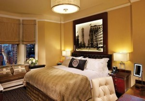 King guest room, luxury, comfort and a view