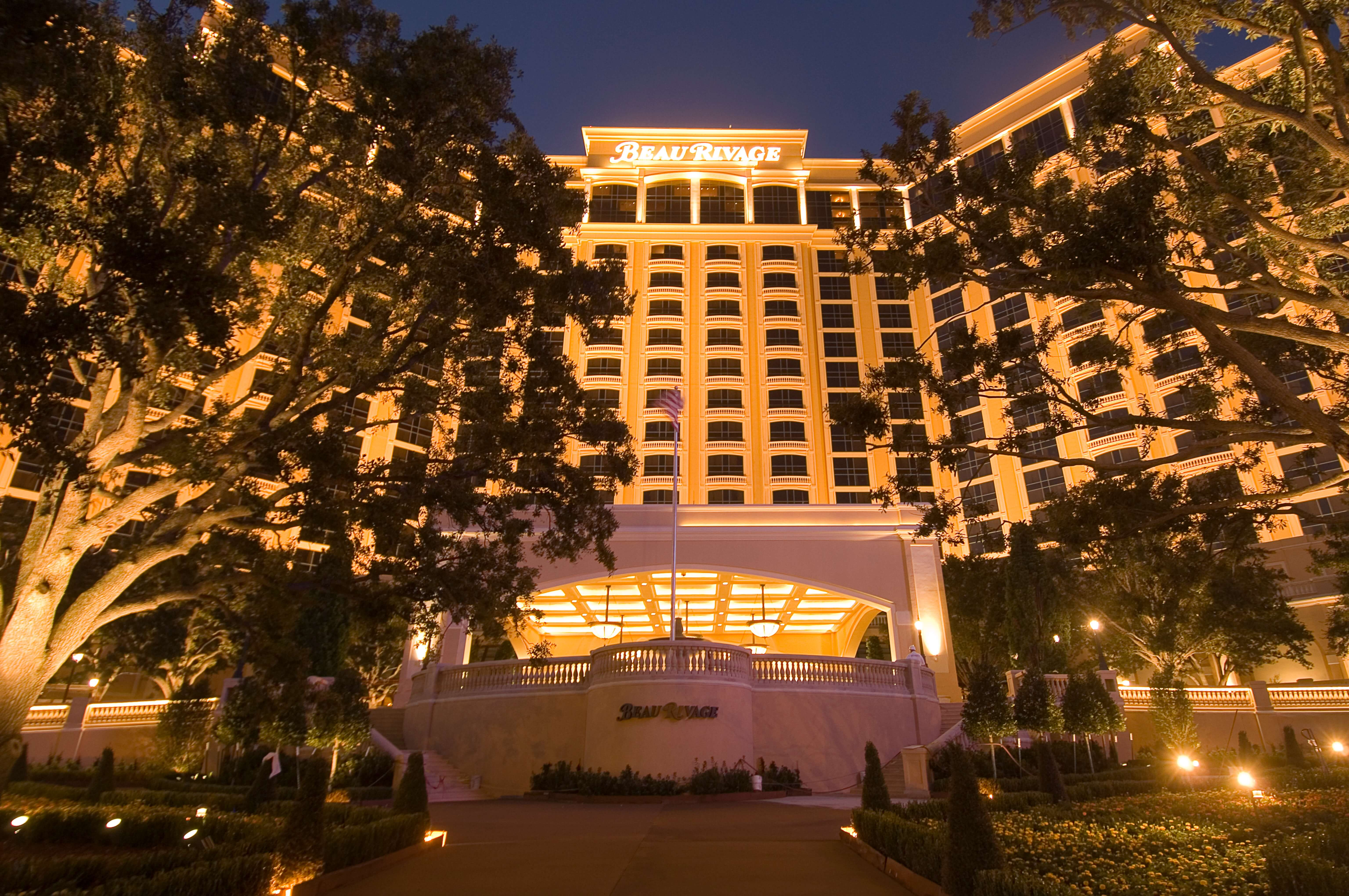 Entrance to Beau Rivage Resort & Casino, Biloxi, Mississippi