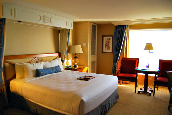 Accommodations at the Beau Rivage Resort & Casino