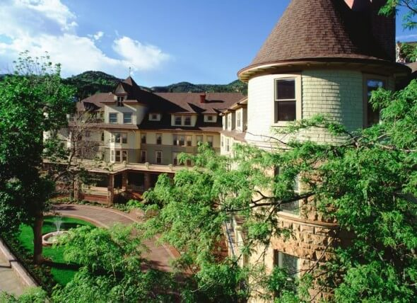 Historic Cliff House at Pikes Peak, Manitou Springs, Colorado