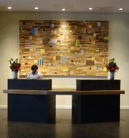 Reception Desk at Hotel Vermont