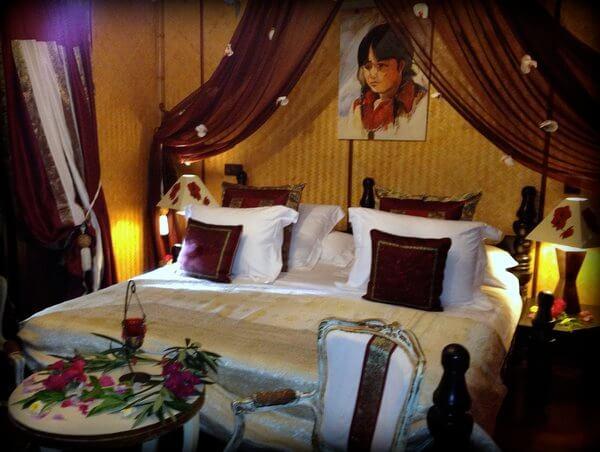 Guest room, Fenua Mata'i'oa, Moorea, French Polynesia