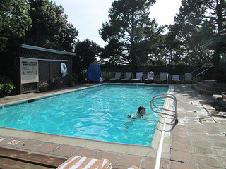 half moon bay lodge, pool