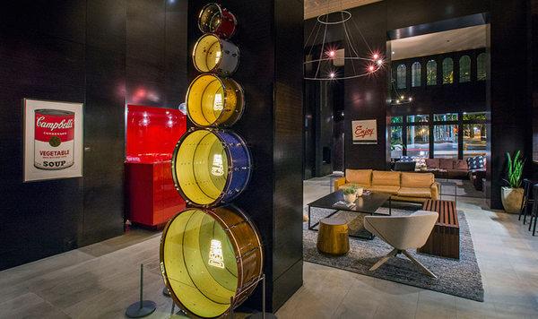 Lobby, Hotel Max, Seattle, WA