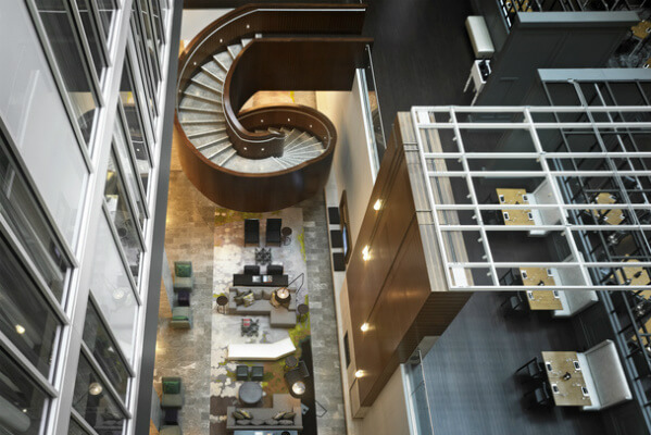 Hilton Columbus Downtown, a sleek new addition to the 4 Diamond list