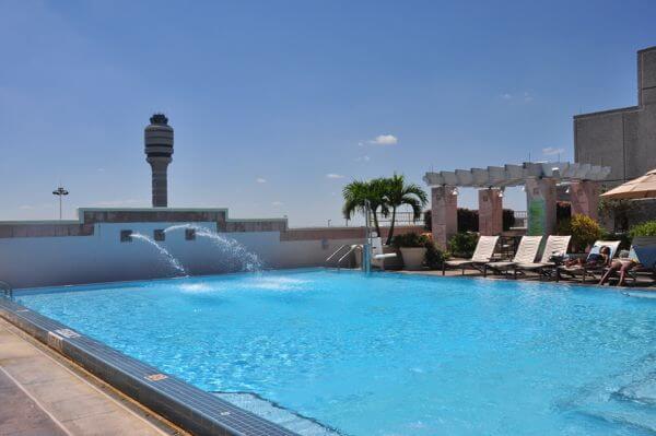 Hyatt airport Pool