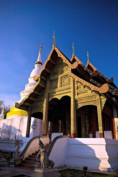 Tamarind Village's Lanna Temple