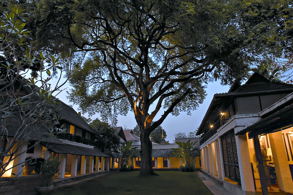 Chiang Mai Boutique hotel Tamarind Village takes its name from the stately 200 year old Tamarind tree in the center of the main courtyard.