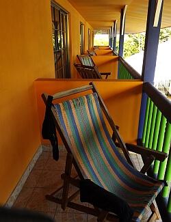 Arenas hotel balcony