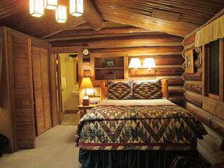 cabin, lone mountain ranch