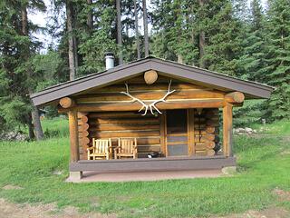 Lone Mountain Ranch, cabin