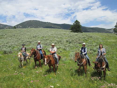 horseback ride, lone mountain ranch