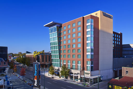 Where to stay hotels near ncaa march madness stadiums for New hotels in memphis tn