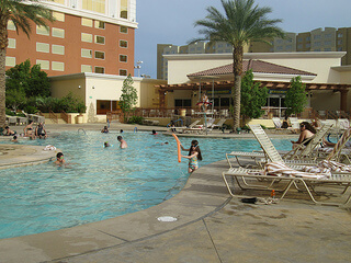 """South Point Hotel"" pool"