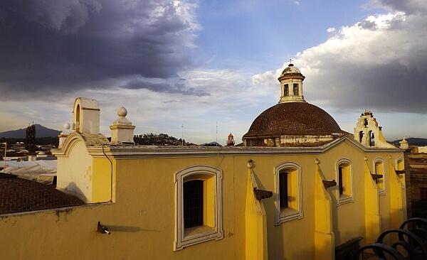 Puebla San Leonardo view