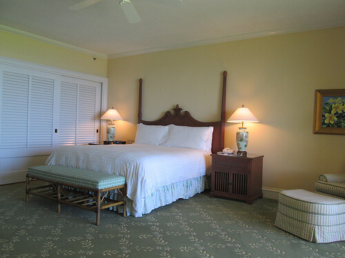 """Manele Bay"" hotel room"