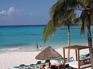 Cancun beach north