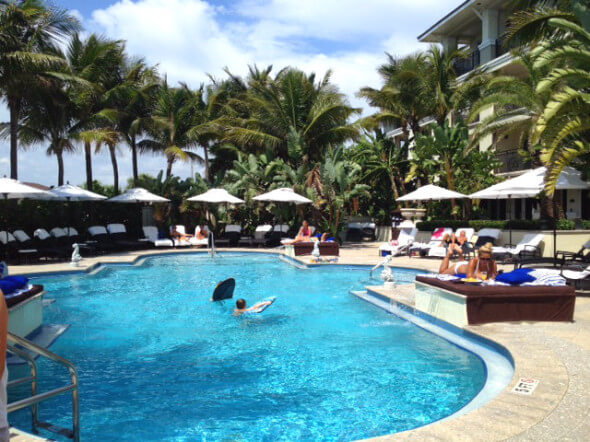 The Pool At Vero Beach Hotel And Spa