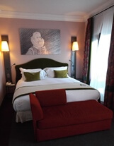 Bedroom in Canal House Suite at Sofitel Legend the Grand Amsterdam