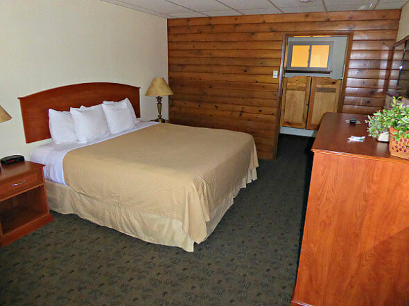 Our accommodations at the Box Canyon Lodge & Hot Springs, Ouray, COlorado