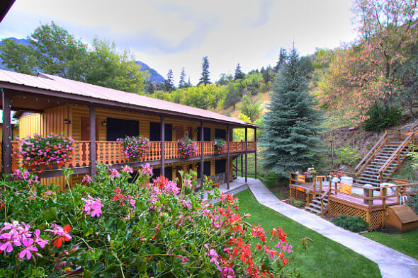 Box Canyon Lodge & Hot Springs, located in beautiful Ouray in southwestern Colorado