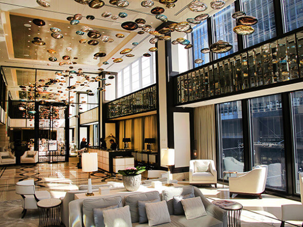 Receive royal treatment at chicago 39 s langham hotel for Design hotel chain