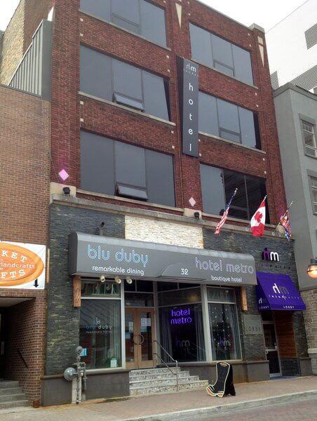 Hotel Metro London Ontario Restaurant