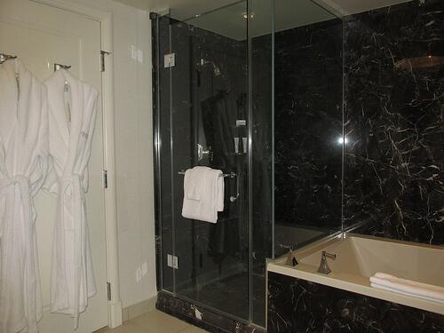 Bathroom Design Las Vegas high-end desert design shines at delano las vegas in nevada