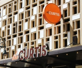 Curtis Hotel Front Entrance