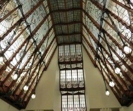 Leaded Glass Ceiling