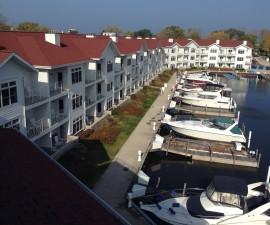 The Marina Grand Resort waterfront