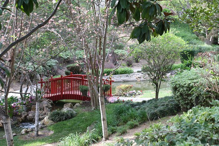 The Langham Huntington, Pasadena, Japanese Garden,