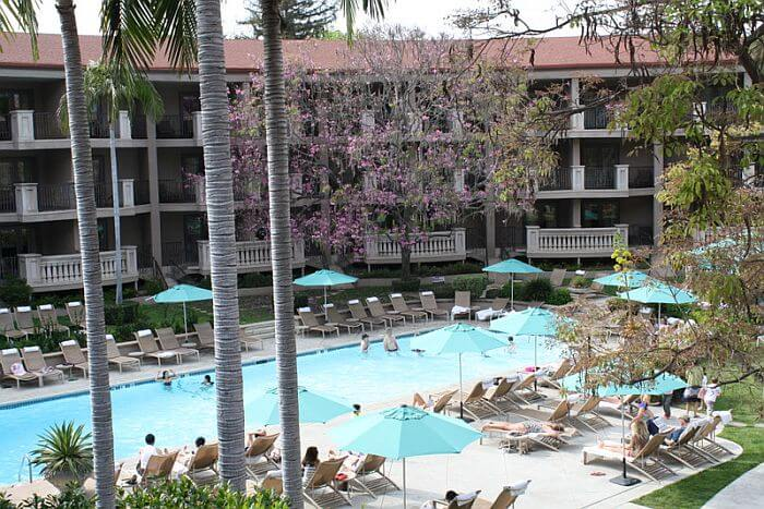 The Langham Huntington, Pasadena, Outdoor Pool
