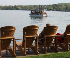 inn on the lake chairs and boat resize
