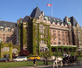 The Fairmont Empress, Victoria BC