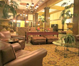 Lobby of Whitman Hotel, Walla Walla