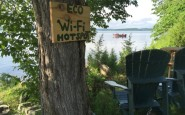 Wifi Hotspot, Island Spirits, Rice Lake, Ontario