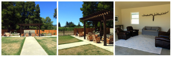 The lovely grounds and event space.
