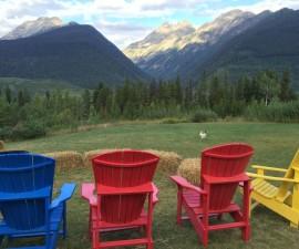 Heather Mountain Lodge grounds