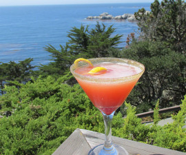 cocktail, hyatt carmel highlands, california