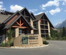 Grande Rockies Resort, Canmore Alberta